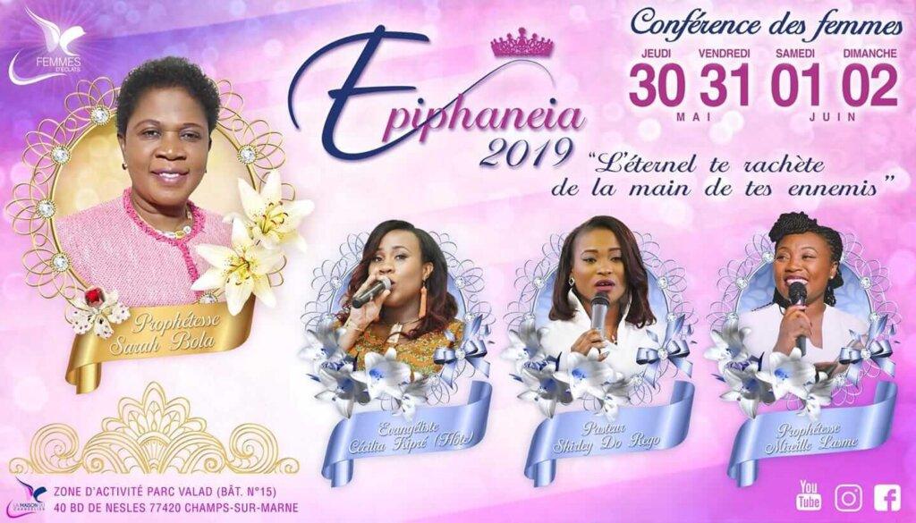 Affiche événement Epiphaneia 2019