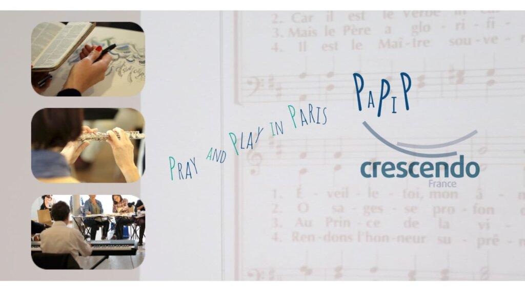 Affiche événement Play and Pray à Paris