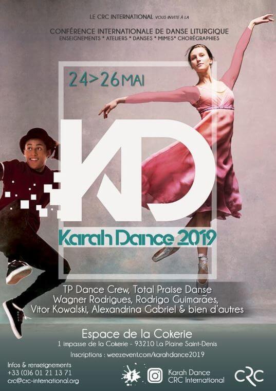 Affiche événement KARAH DANCE 2019