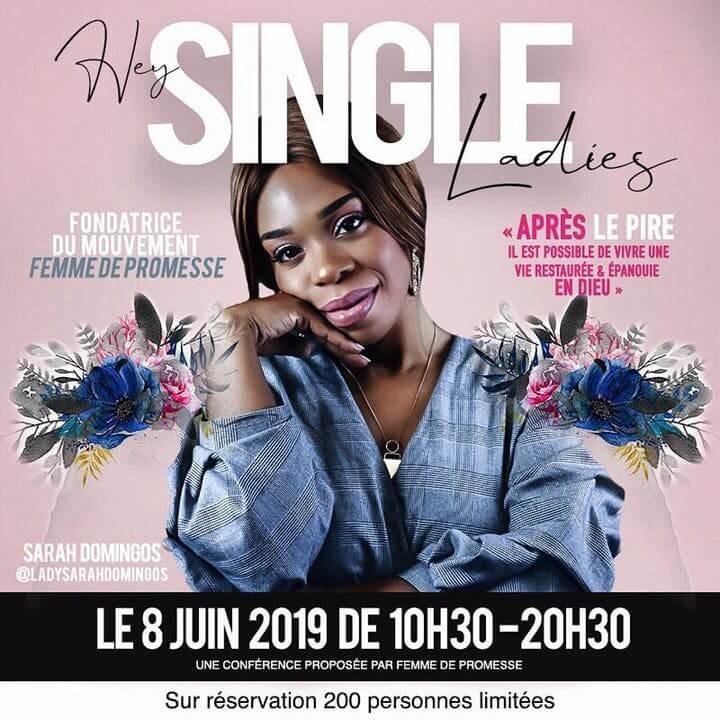 Affiche événement Hey single ladies : Une vie épanouie & restaurée, c'est possible