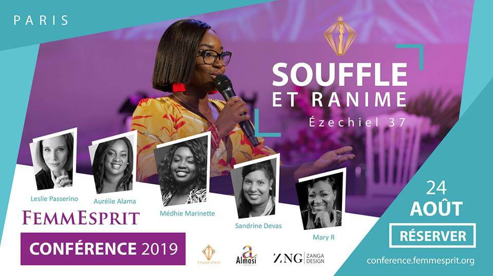 Affiche événement FemmEsprit Conférence 2019