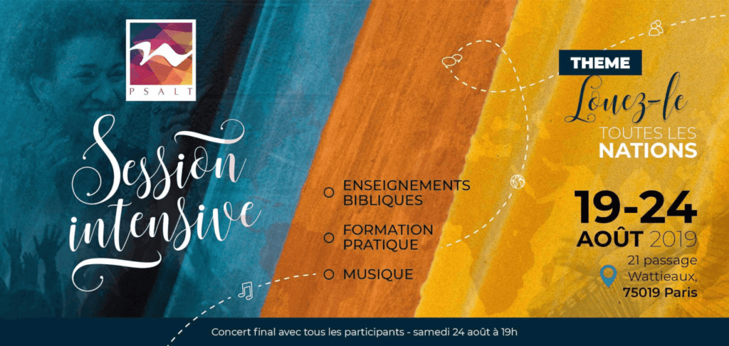 Affiche événement Session Intensive D'été 2019