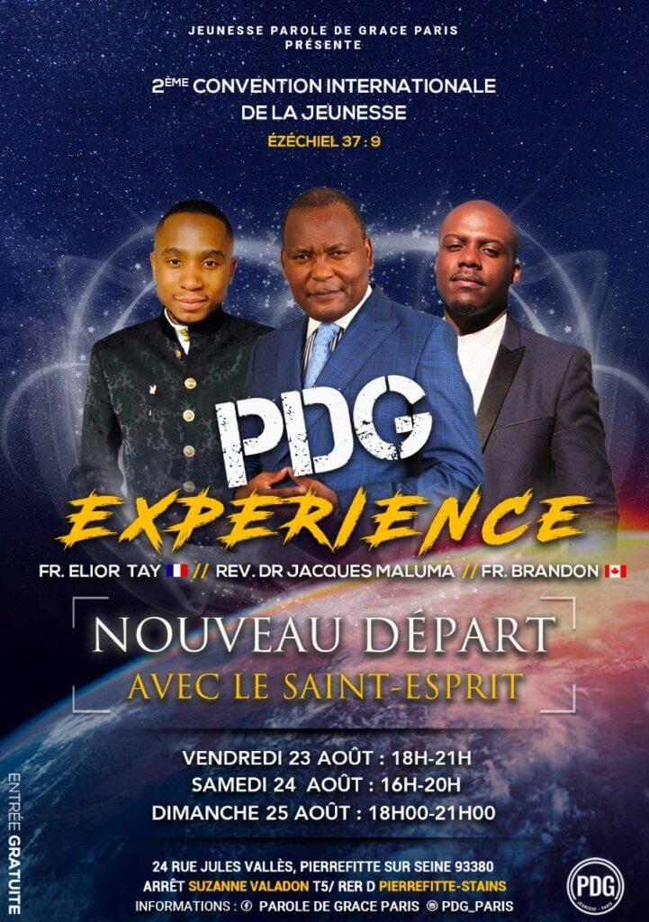 Affiche événement PDG Expérience – 2ème édition