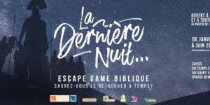 Image Escape Game Biblique – La dernière nuit