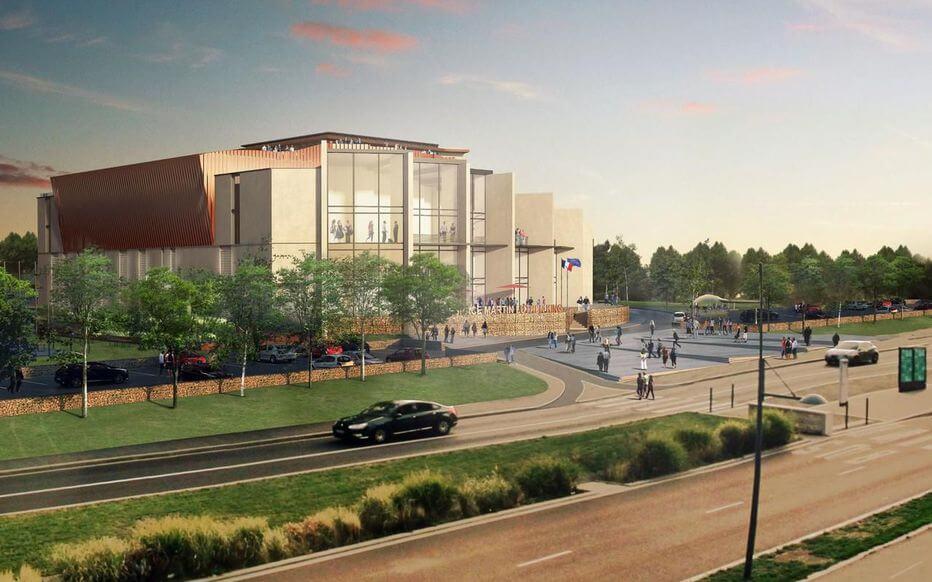 Le futur «palais des congrès» des chrétiens en construction