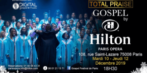 Image Chorale Total Praise – Gospel au Hilton Paris Opera
