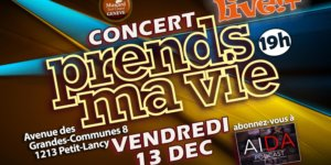 Image Concert «Prends ma vie»