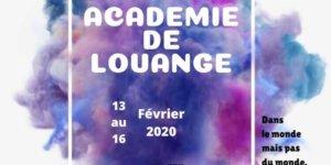Image Académie de Louange 2020