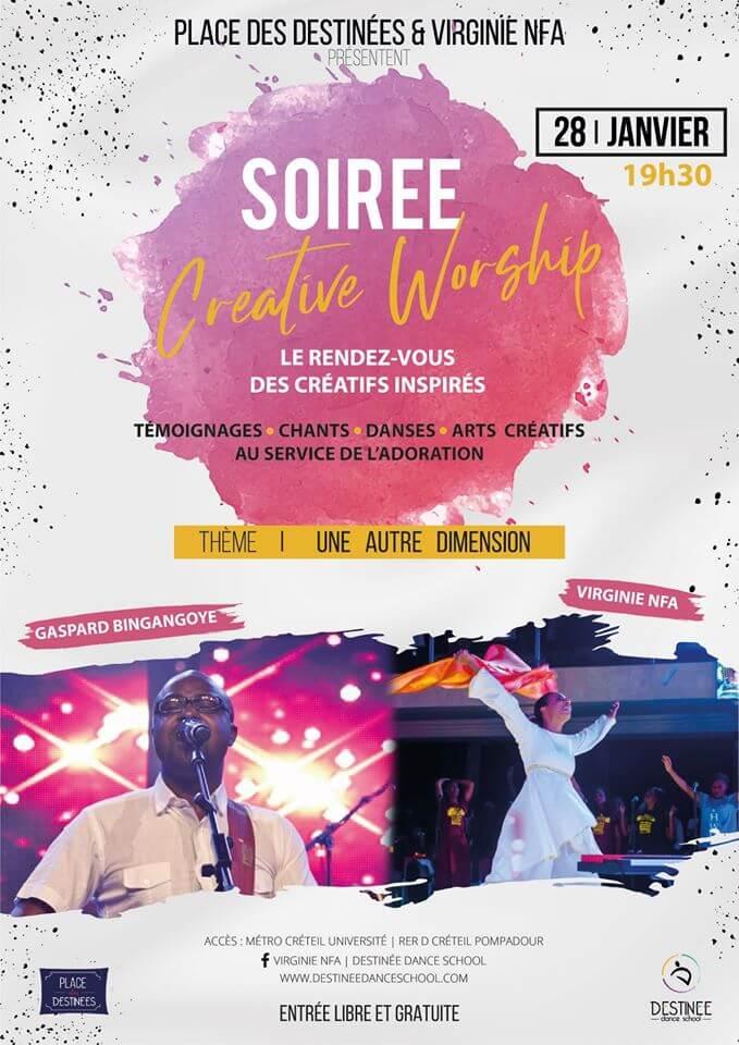 Soirée Créative Worship