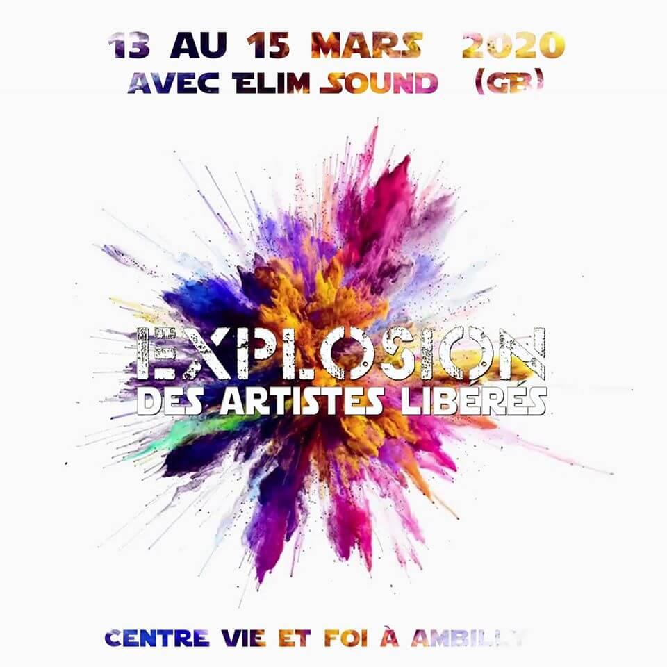 Affiche événement Explosion Conférence : Des Artistes Libérés